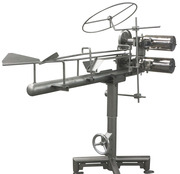 Оборудование для убоя птиц с двойной пилой